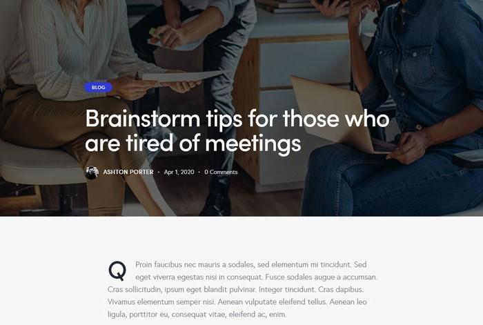 Qwery – Premium Responsive MultiPurpose Business WordPress Theme