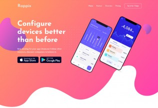 Rappix – Premium Responsive App Landing Page HTML5 Template