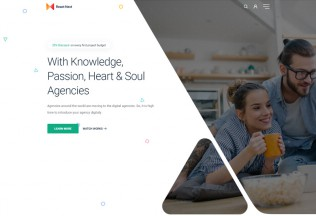 React Next – Premium Responsive React Landing Page HTML5 Template