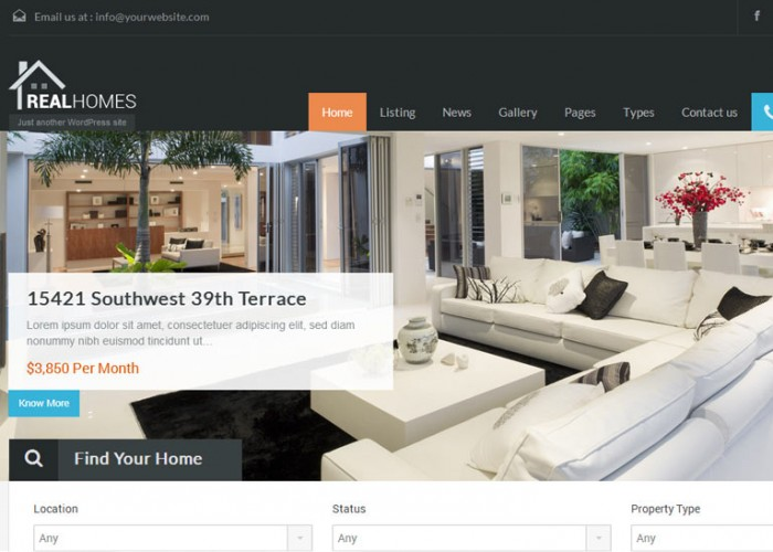 Real Homes – Premium Responsive WordPress Theme