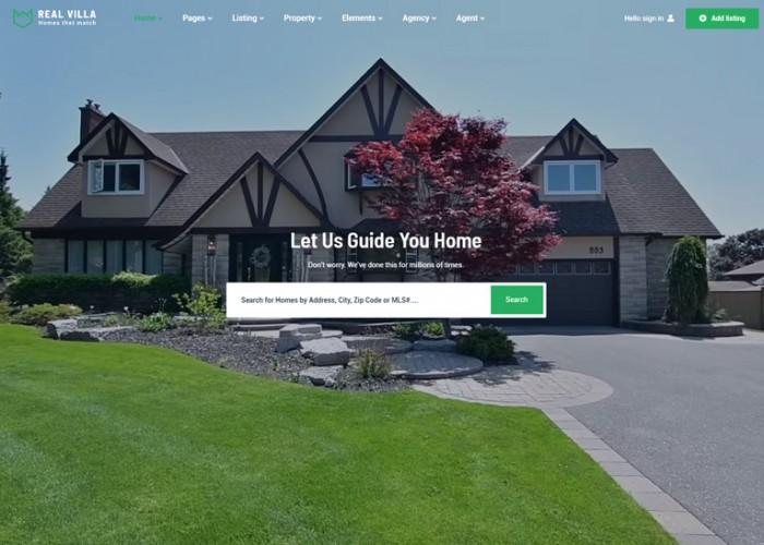 Real Villa – Premium Responsive Real Estate HTML5 Template