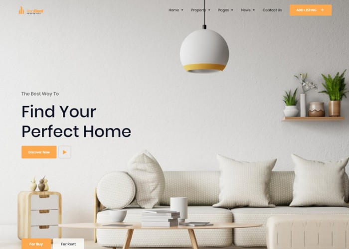 Realdeal – Premium Responsive Real Estate React HTML5 Template