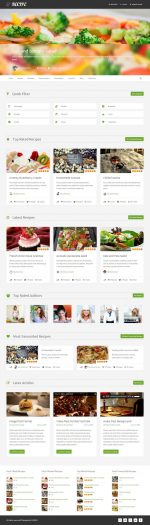 5+ Best Responsive Wordpress Cooking and Recipes Themes in 2015