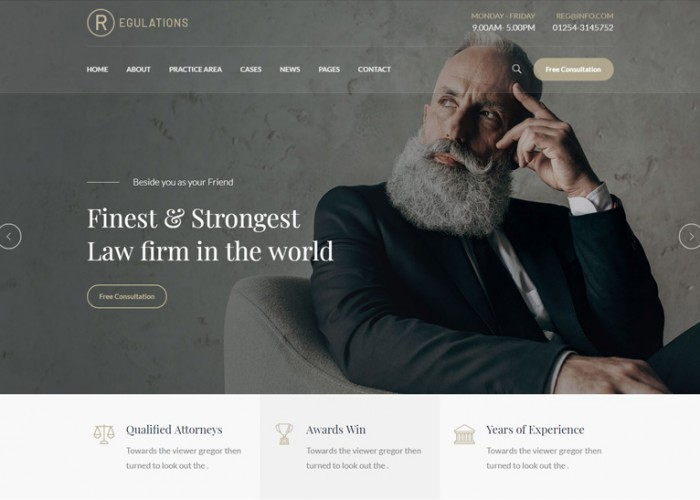 Regulations – Premium Responsive Law Firm WordPress Theme