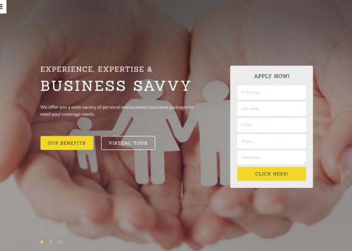 Reinsure – Premium Responsive Insurance HTML5 Template