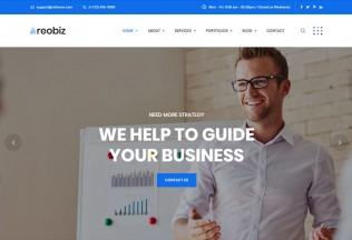 Reobiz – Premium Responsive Consulting Business WordPress Theme