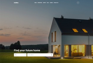 Resideo – Premium Responsive Real Estate HTML5 Template
