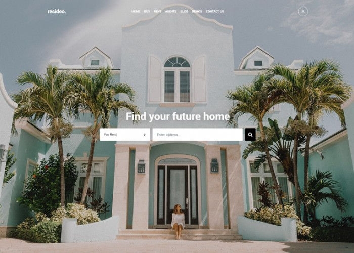 Resideo – Premium Responsive Real Estate WordPress Theme