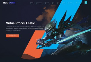 Respawn – Premium Responsive Esports Gaming WordPress Theme