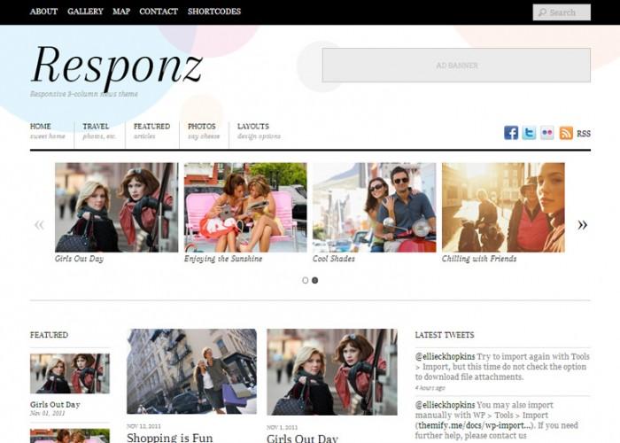Responz – Premium Responsive WordPress News and Editorial Theme
