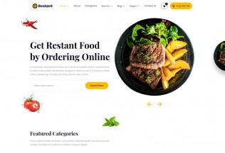 Restant – Premium Responsive Restaurant HTML5 Template