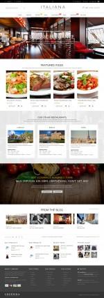 Best Responsive Restaurant Magento Themes in 2014
