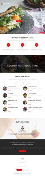 15+ Best Responsive Restaurant HTML5 Templates in 2015