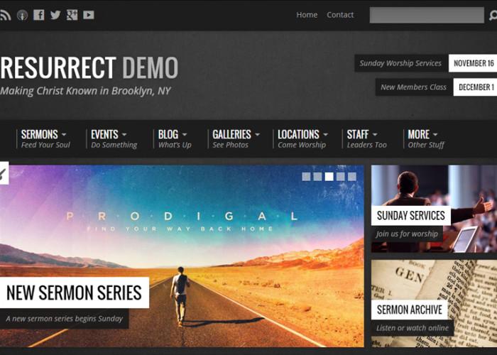 Resurrect – Premium Responsive Church WordPress Theme