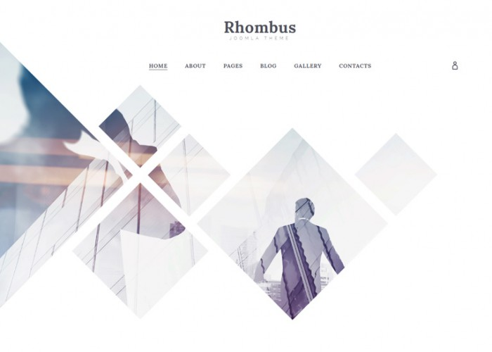 Rhombus – Premium Responsive Business Joomla Template