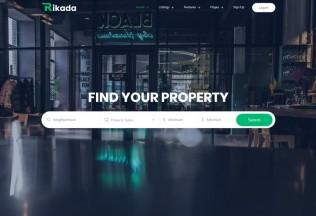 Rikada – Premium Responsive Real Estate HTML5 Template