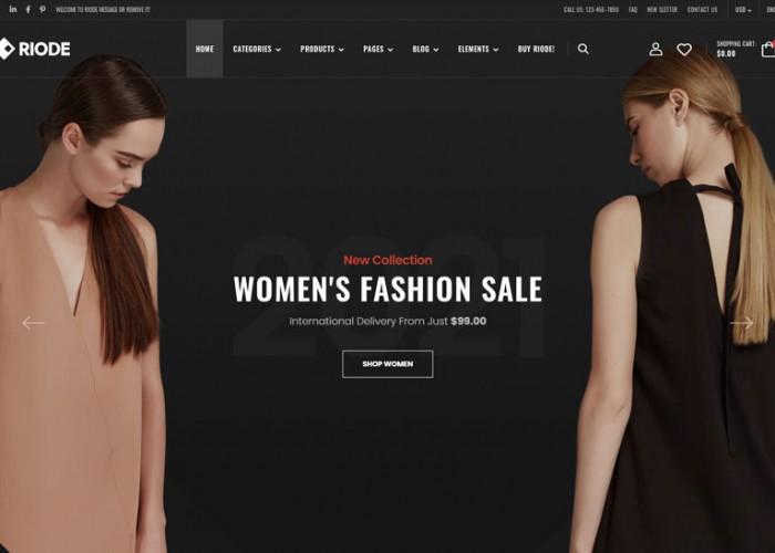 Riode – Premium Responsive WooCommerce WordPress Theme