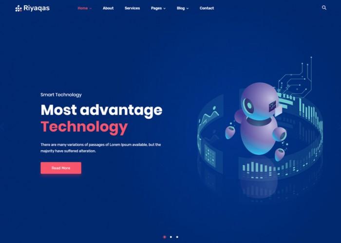 Riyaqas – Premium Responsive Creative Multipurpose Joomla Template