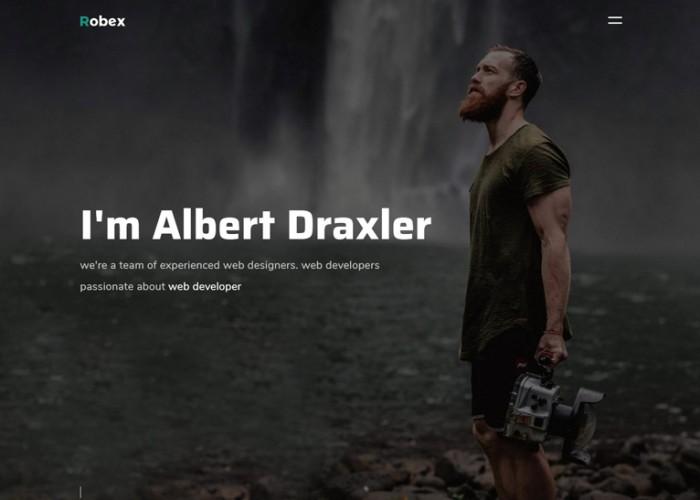 Robex – Premium Responsive Portfolio Resume HTML5 Template
