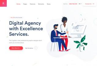 Rogan – Premium Responsive Creative MultiPurpose HTML5 Template