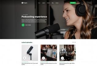 Roogan – Premium Responsive Audio Podcast WordPress Theme