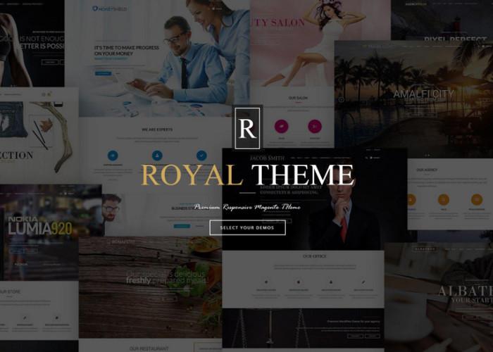 Royal – Premium Responsive Fluid Magento Theme