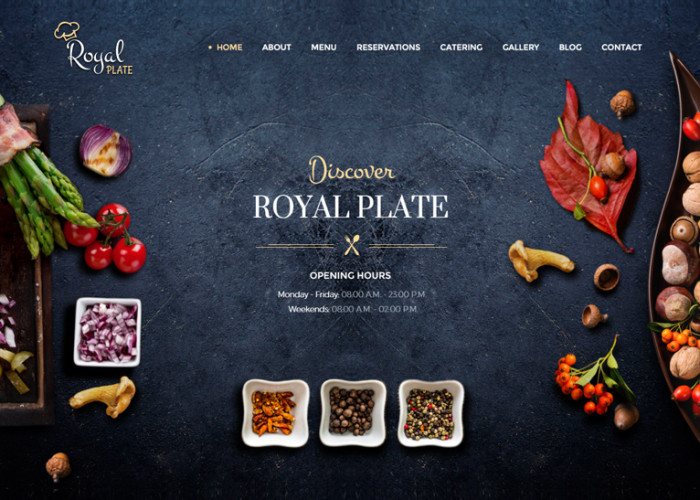 Royal Plate – Premium Responsive Restaurant and Catering HTML5 Template