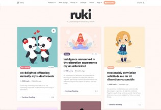 Ruki – Premium Responsive Captivating Personal Blog WordPress Theme