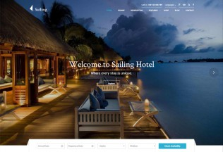 Sailing – Premium Responsive Hotel WordPress Theme