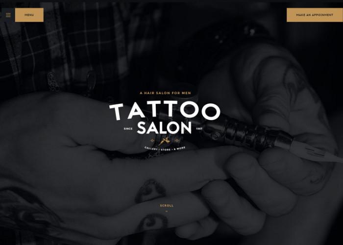 Salon – Premium Responsive Barbershop & Tatoo WordPress Theme