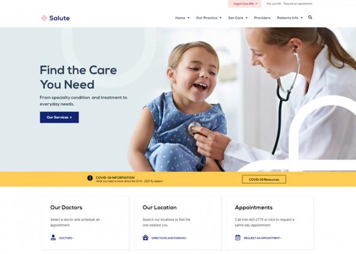 Salute – Premium Responsive Medical WordPress Theme