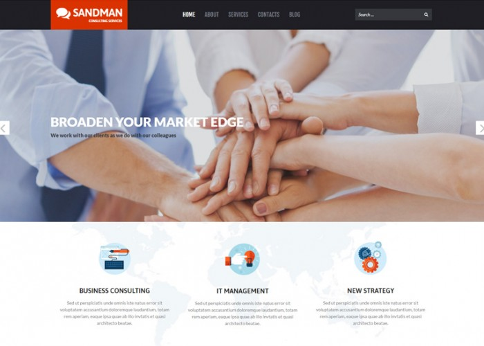 Sandman – Premium Responsive Business Multipurpose WordPress Theme