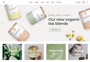 Sante – Premium Responsive Organic Shop WordPress Theme