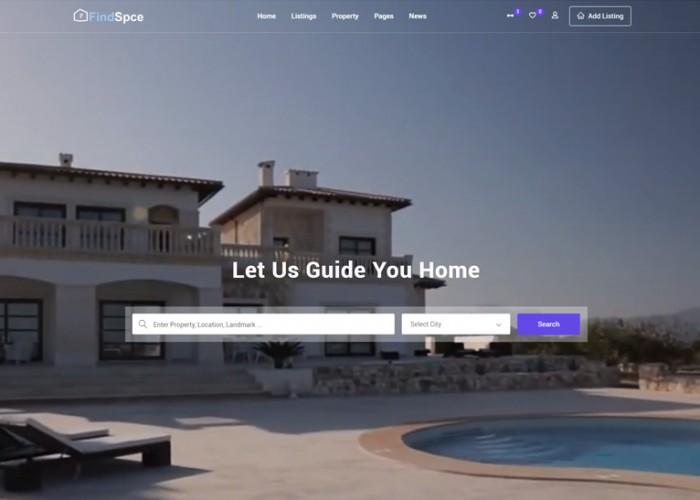 SarchHolm – Premium Responsive Real Estate HTML5 Template