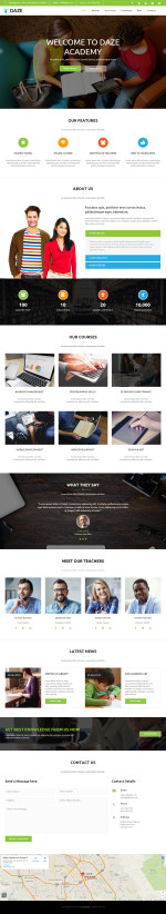 Best Muse School and Education Templates in 2015