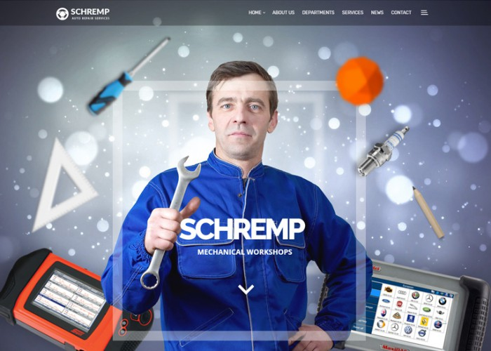 Schremp – Premium Responsive Mechanical Workshops WordPress Theme