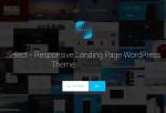 Select – Premium Responsive Landing Page WordPress Theme