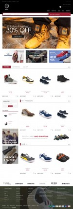 Best Premium Responsive Magento Shoes Store Themes in 2014