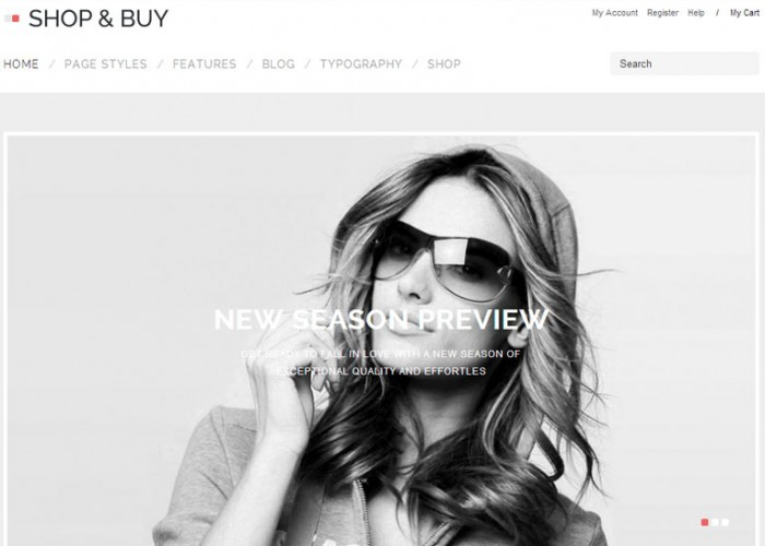 Shop & Buy – Premium Responsive eCommerce WordPress Theme