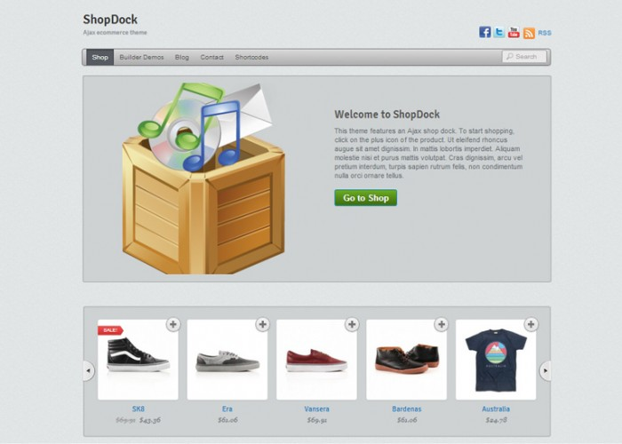 ShopDock – Premium Responsive WordPress WooCommerce Theme