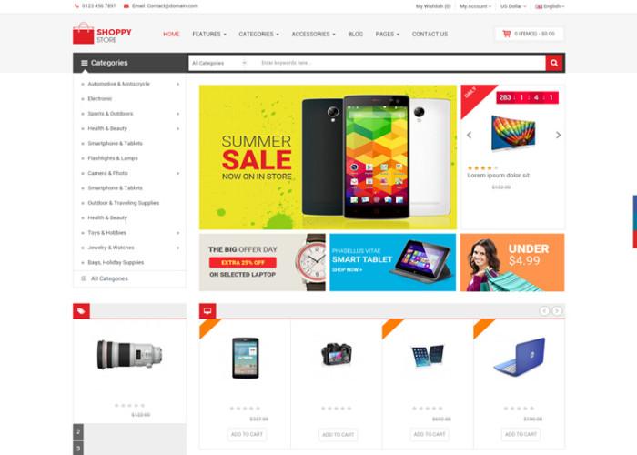 ShoppyStore – Premium Responsive Multipurpose OpenCart Theme