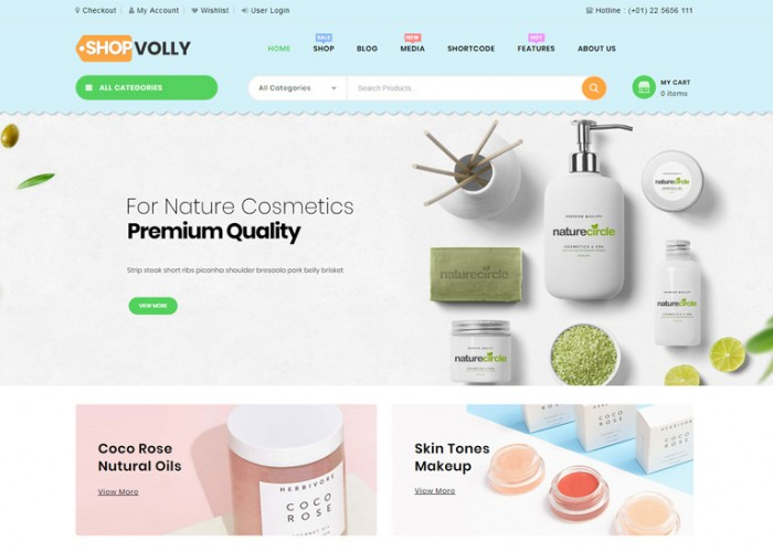 ShopVolly – Premium Responsive Multipurpose WooCommerce Theme