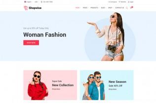 Shopwise – Premium Responsive eCommerce Bootstrap HTML5 Template