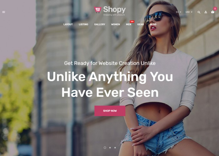Shopy – Premium Responsive Fashion Magento 2 Theme