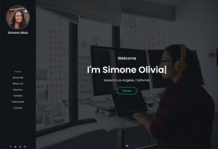Simone – Premium Responsive Personal Portfolio HTML5 Template