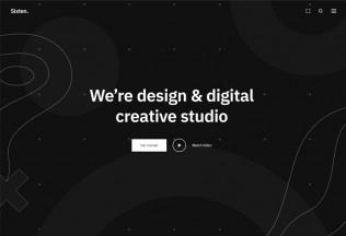 Sixten – Premium Responsive Minimalist Portfolio WordPress Theme