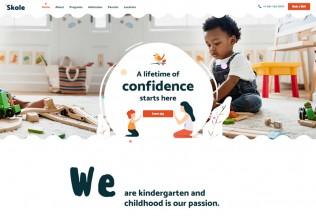 Skole – Premium Responsive School Kindergarten WordPress Theme