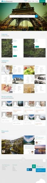 10+ Best Responsive Wordpress Directory and Listing Themes 2015