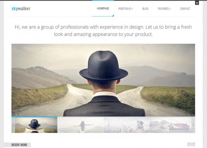 SkyWalker – Premium Responsive Blog & Portfolio WordPress Theme