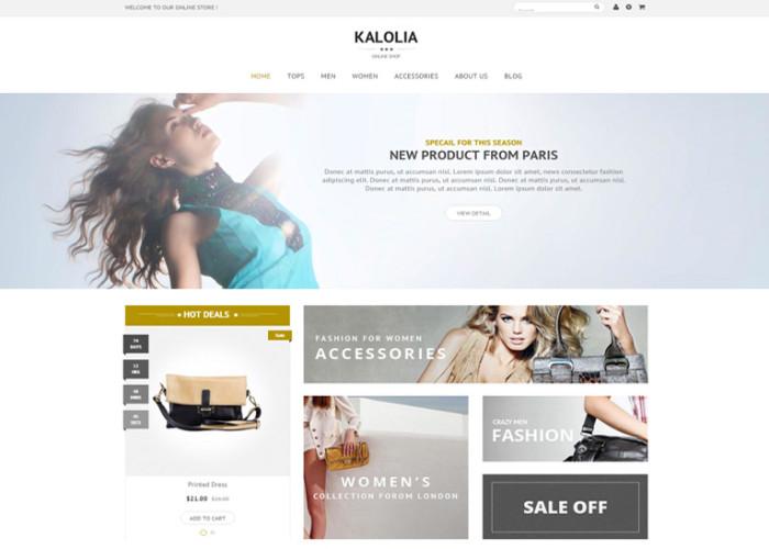 SNS Kalolia – Premium Responsive Prestashop Theme